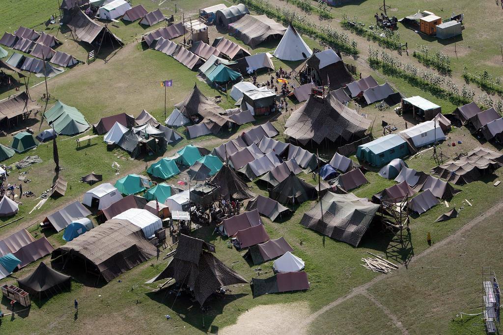 2008 fand das letzte Pfadi Bundeslager in der Linthebene statt.
