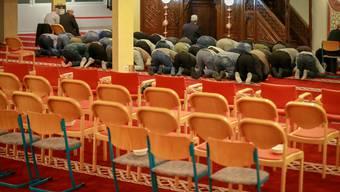 Blick in die Moschee in der Stadt St.Gallen, in welcher der Imam tätig war. (Archivbild: Raphael Rohner)