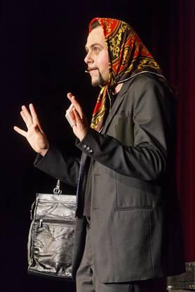 Michel Gammenthaler wechselte auch mal die (Geschlechter-)rolle