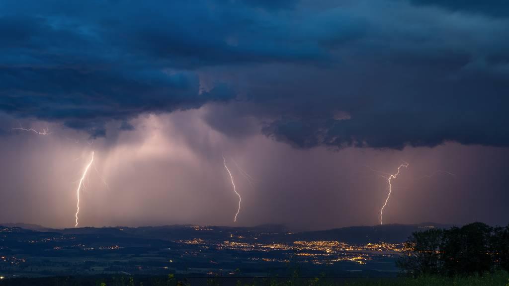 Meteorologen rechnen am Mittwoch erneut mit Gewitterfront