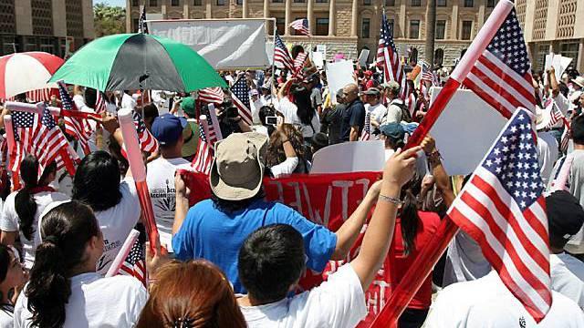 Umstrittenes Einwanderungsgesetz sorgt für Proteste in Arizona