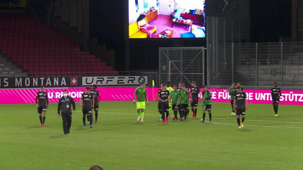 Auf Meisterkurs: FC St.Gallen verteidigt Tabellenspitze
