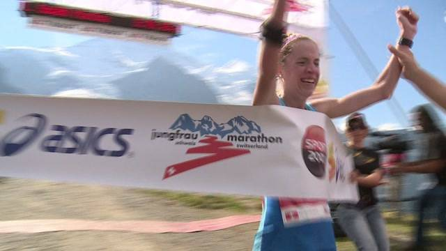 Neuer Streckenrekord am Jungfrau-Marathon