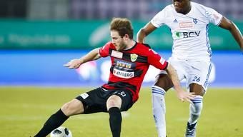 Nico Siegrist, der Torschützenkönig der letzten Saison, traf erstmals in dieser Spielzeit