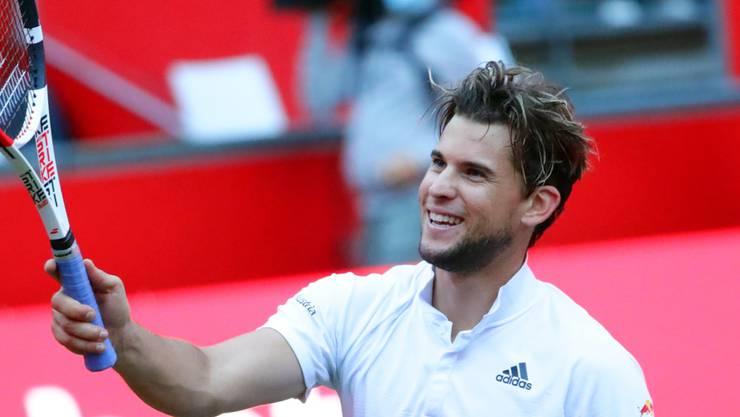Dominic Thiem triumphierte am Einladungsturnier in Berlin zweimal hintereinander