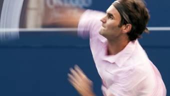 Auf Roger Federer wartet in Cincinnati ein Usbeke
