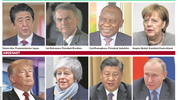 Zusagen und Absagen für das WEF 2019