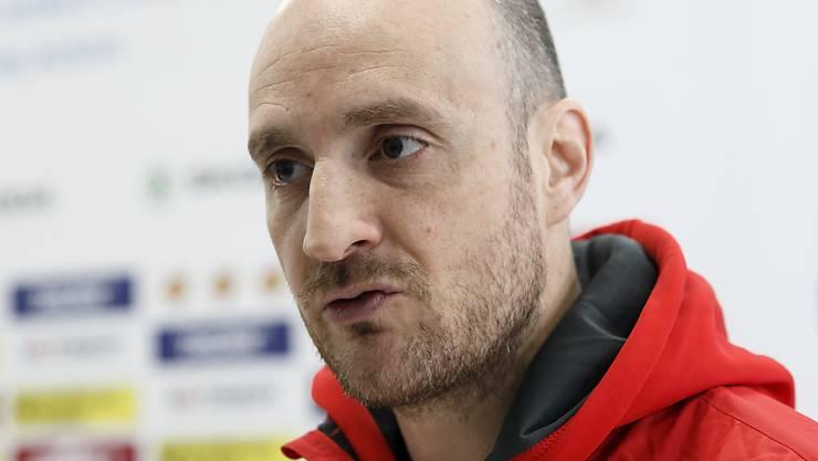 Der Schweizer U20-Nationaltrainer Christian Wohlwend holte mit seinem Team zum WM-Auftakt den ersten Punkt