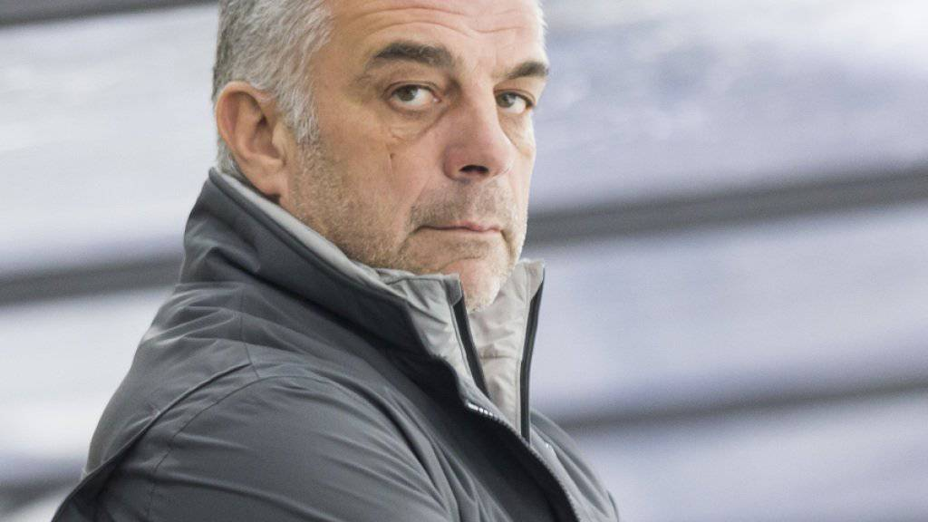 Martignys Trainer Matjaz Kopitar ist auf Erfolgskurs