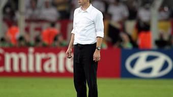 Jürgen Klinsmann zufrieden mit dem Debüt