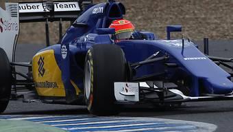 Sauber-Pilot Felipe Nasr fährt die schnellste Runde