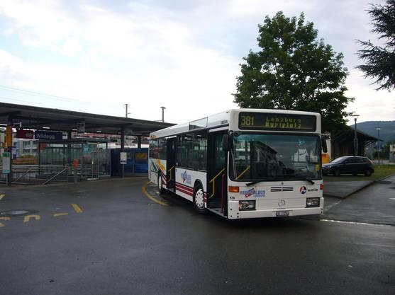 Bis im Juli fuhr der Bus noch auf dem Liniennetz.