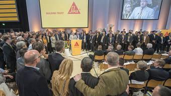 Auch dieses Jahr treffen an der Generalversammlung der Sika zwei Fronten aufeinander (Archivbild der letzten Generalversammlung im April 2016).