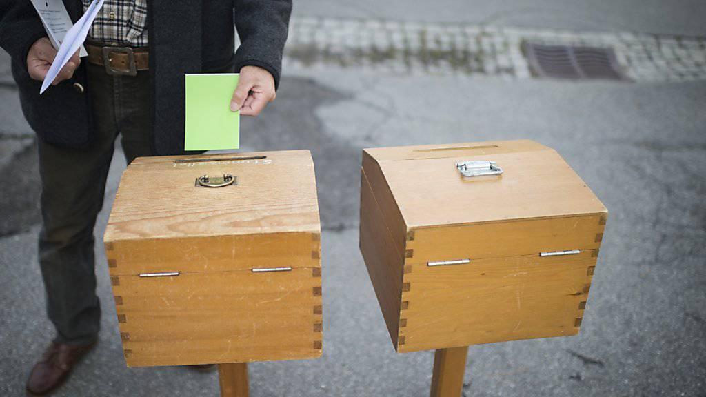 Grün zieht: Das Wahlbarometer sieht für die Grünen und die GLP Wahlerfolge im kommenden Herbst voraus. Verluste müsste die SVP hinnehmen. (Archivbild)