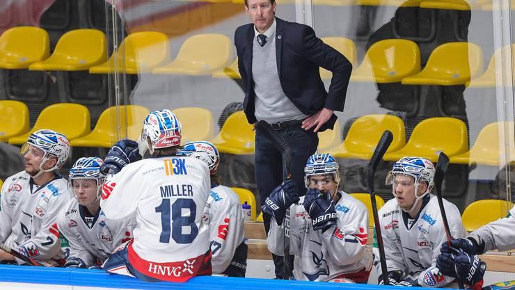 Michel Zeiter hat bei den Heilbronner Falken ein neues Kapitel in seiner Trainerkarriere begonnen.