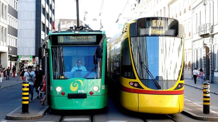 Die BLT und die BVB wollten ihre Verkehrsbetriebe näher zusammenführen - die Pläne sind nun gescheitert. (Archiv)