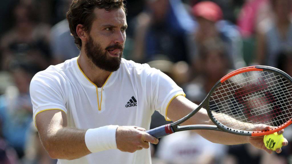 Ernests Gulbis stürzte im Ranking regelrecht ab und fordert nun in Wimbledon Novak Djokovic heraus