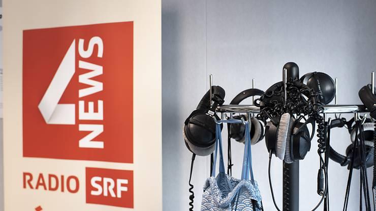 """Die Crew des SRF-Radionachrichtenkanals """"SRF 4 News"""" zügelt nach Zürich. (Archivbild)"""