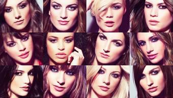Das sind die Kandidatinnen für die Miss Schweiz Wahlen 2013