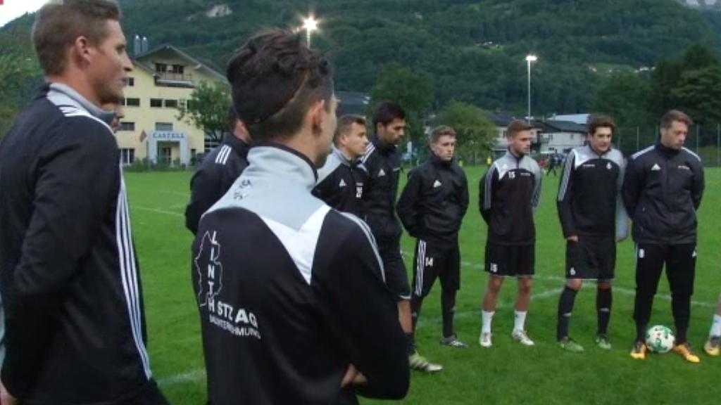 Die Mannschaft des FC Linth erwartet den FCSG in der Lintharena in Näfels.