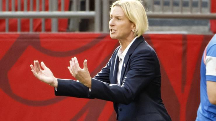 Olympia-Qualifikation als neues grosses Ziel für die Schweizer Frauen und Nationaltrainerin Martina Voss-Tecklenburg