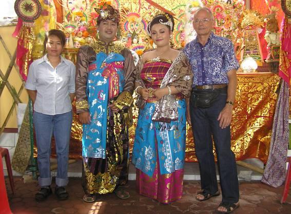 Erich Lüscher wanderte mit seiner zweiten Ehefrau im Jahr 1999 nach Bali aus.
