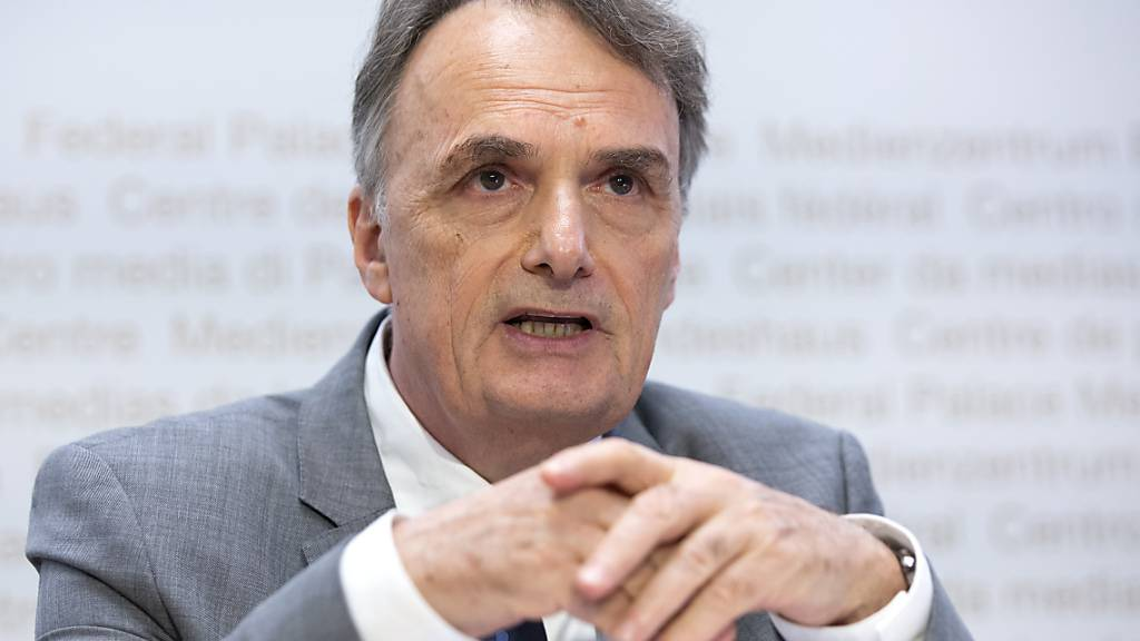 Mario Gattiker, Staatssekretär für Migration, erwartet mittelfristig einen Anstieg der Asylgesuche in der Schweiz. (Archivbild)
