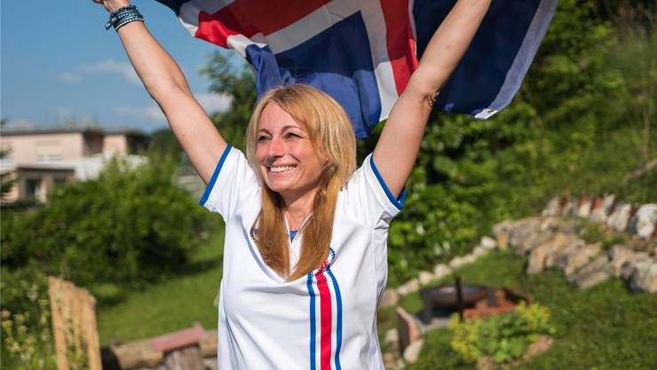 Erna Jonsdottir tippt auf einen Sieg der Isländer gegen Frankreich: «Wir Isländer sind Kämpfer.» Mario Heller