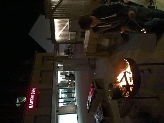 Nacht am Feuer