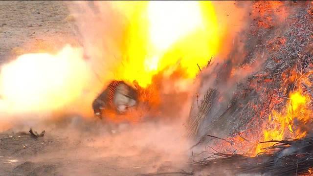 Böögg-Explosion 2016: Der Rekordjäger