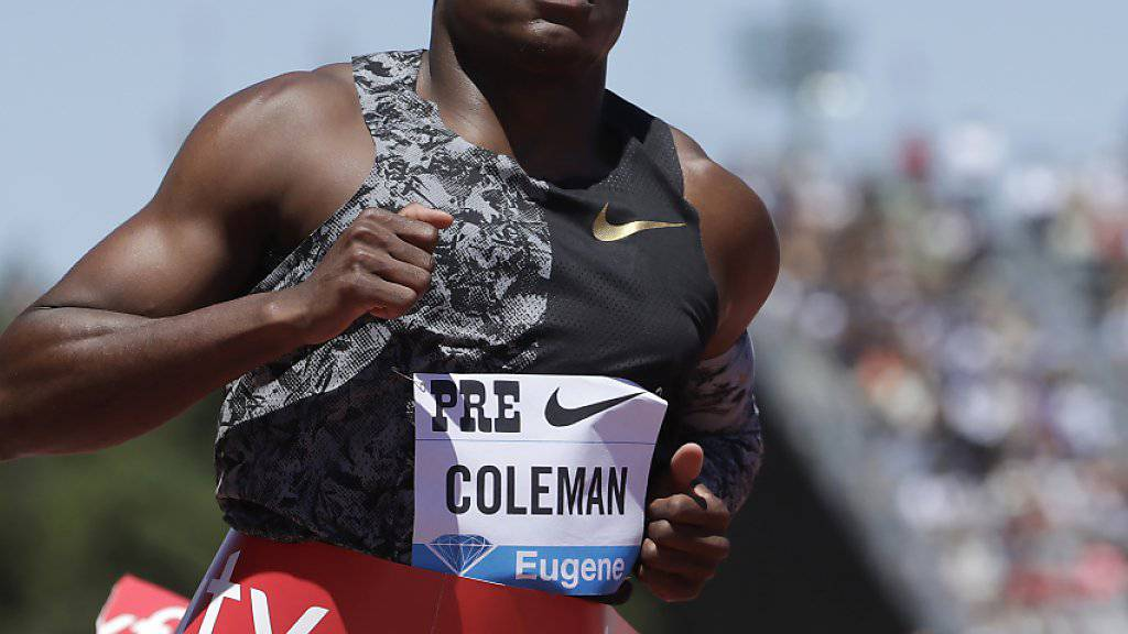 Coleman wird von Anti-Doping-Agentur angehört