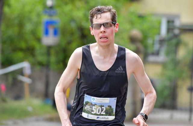 Sieger des Lenzburger Lauf 2018: Roger Küng