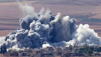 Der Kampf um die syrische Grenzstadt Kobane