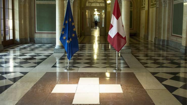 Das Verhältnis der Schweiz zu Europa wird im 2015 ein bestimmendes Thema bleiben.