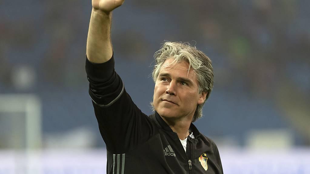 Ein bekanntes Gesicht im Schweizer Fussball: Marco Walker.