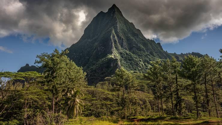 Der Mont Rotui ist mit 899m der zweithöchste Berg der Insel Moorea
