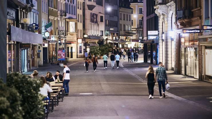 Keine vollen Strassen mehr in Basel.