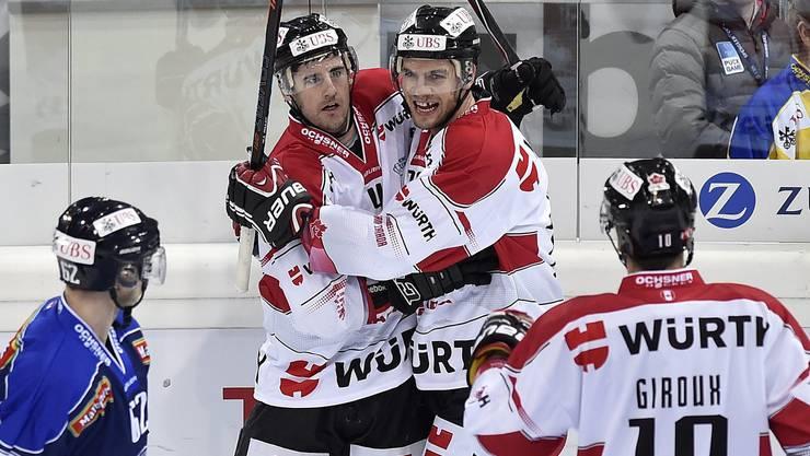 Die Kanadier machen mit dem KHL-Verein aus Zagreb kurzen Prozess