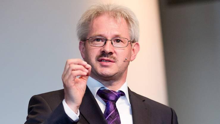 Kurt Schmid, Präsident des Aargauischen Gewerbeverbandes
