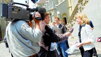 START: Am 4. Juni 2007 (Bild) nahm Nadine Masshardt die erste Hürde indem der Grosse Rat ihre Motion überwies. (Bild: mt)