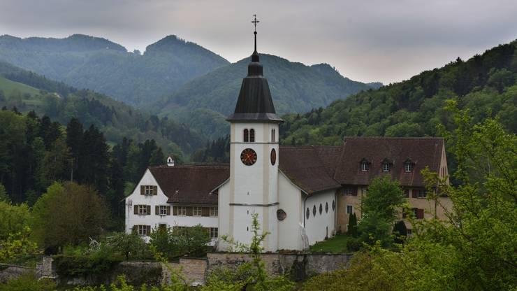 Das Kloster am Pilgerweg oberhalb von Beinwil. (J. Junkov)