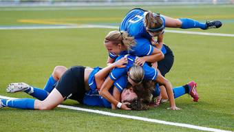 Die Schlieremerinnen hatten gegen die Femina Kickers Worb Grund viel zum Jubeln.