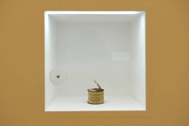 Die «Boite ouverte de Piero Manzoni» von Bernard Bazile enthält genau das, was darauf steht: Kot des Künstlers Manzoni.