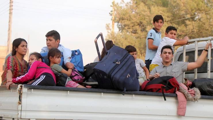 Erdogan droht mit Flüchtlingen.