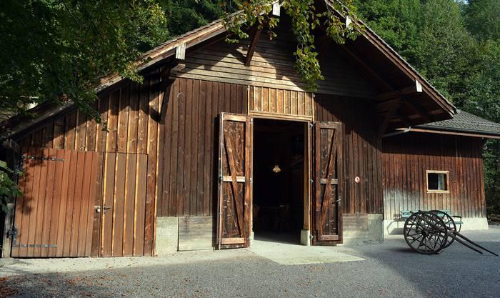 Müsli-Hüsli: in der umgebauten Scheune im Wildnispark Zürich Langenberg werden Mäuse, Siebenschläfer und Ratten präsentiert.