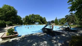 Zuletzt liessen noch die Schwimmbäder in Messen, Grenchen (Bild) und Zuchwil ihr Wasser mit Chlorgas desinfizieren.