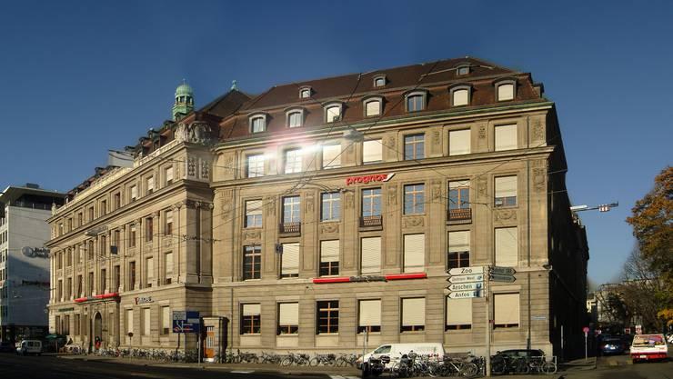 Das Redaktionsgebäude der «Basler Zeitung» am Aeschenplatz in Basel.