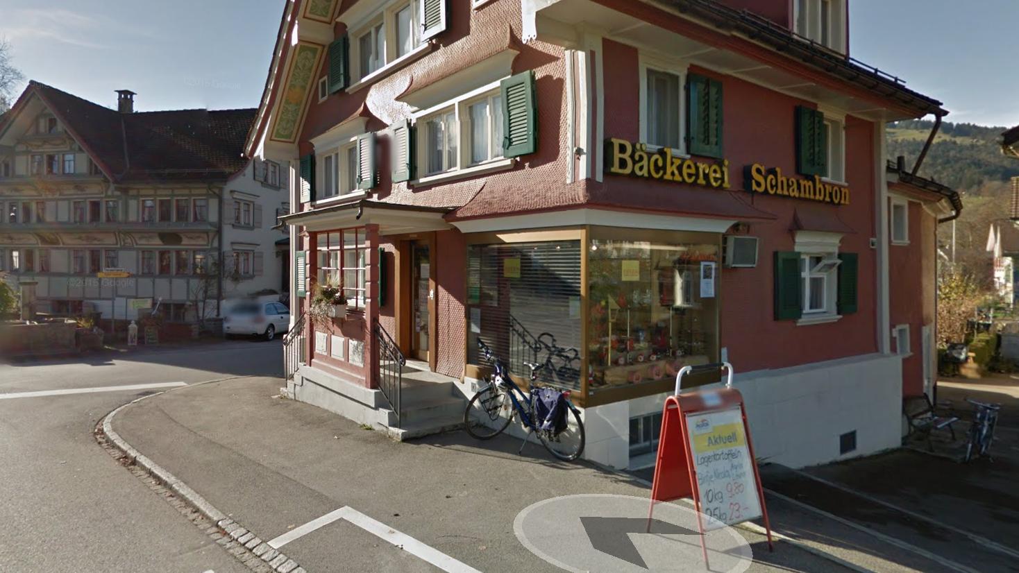 Die Bäckerei Schambron an der Thurstrasse wurde Opfer der Süssigkeiten-Diebe.