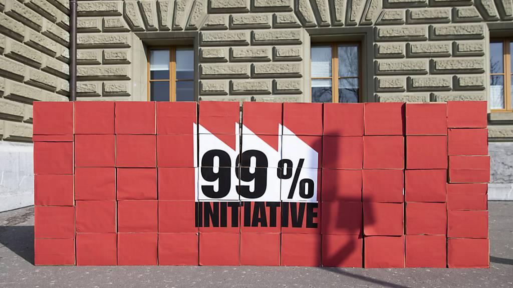 Die Volksinitiative treffe nicht nur ein Prozent der Steuerzahlenden, sondern auch Familienunternehmen und Startups, argumentieren die Gegner. (Archivbild)