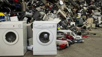 In der Schweiz sind letztes Jahr 136'000 Tonnen Elektroschrott gesammelt worden. (Archivbild)